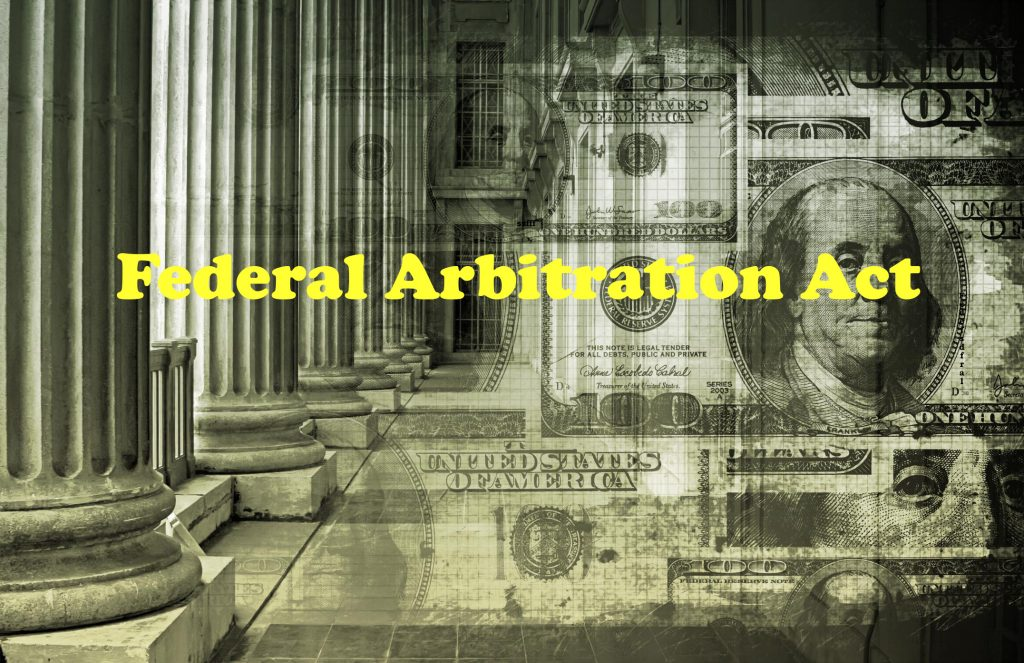 Chapter 1 Federal Arbitration Act 1