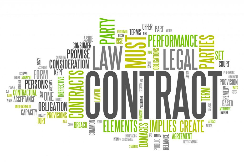 Contract Appraisal Provision